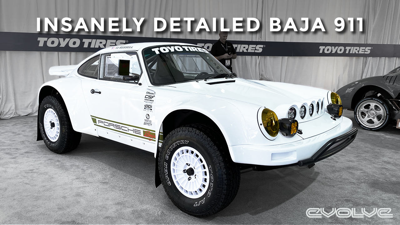 A lifted widebody 911 made for the dunes - The Baja 911