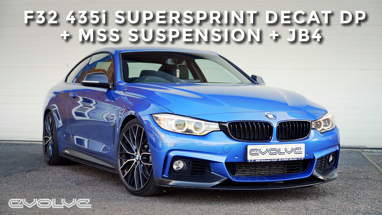 MSS Suspension + Supersprint Decat + JB4 for this F32 435i N55