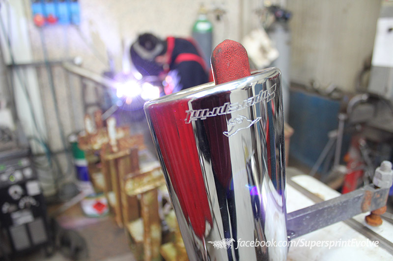 Evolve Visit The Supersprint Exhaust Factory