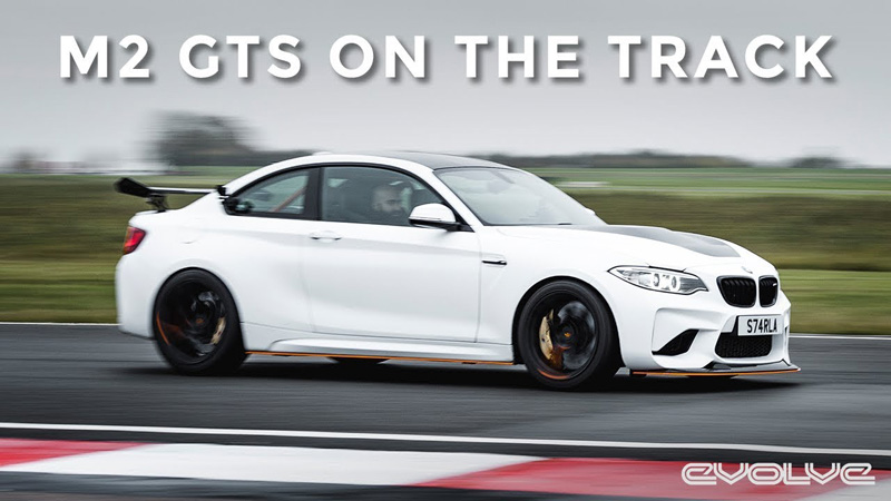 Testing our M2 GTS Project on track