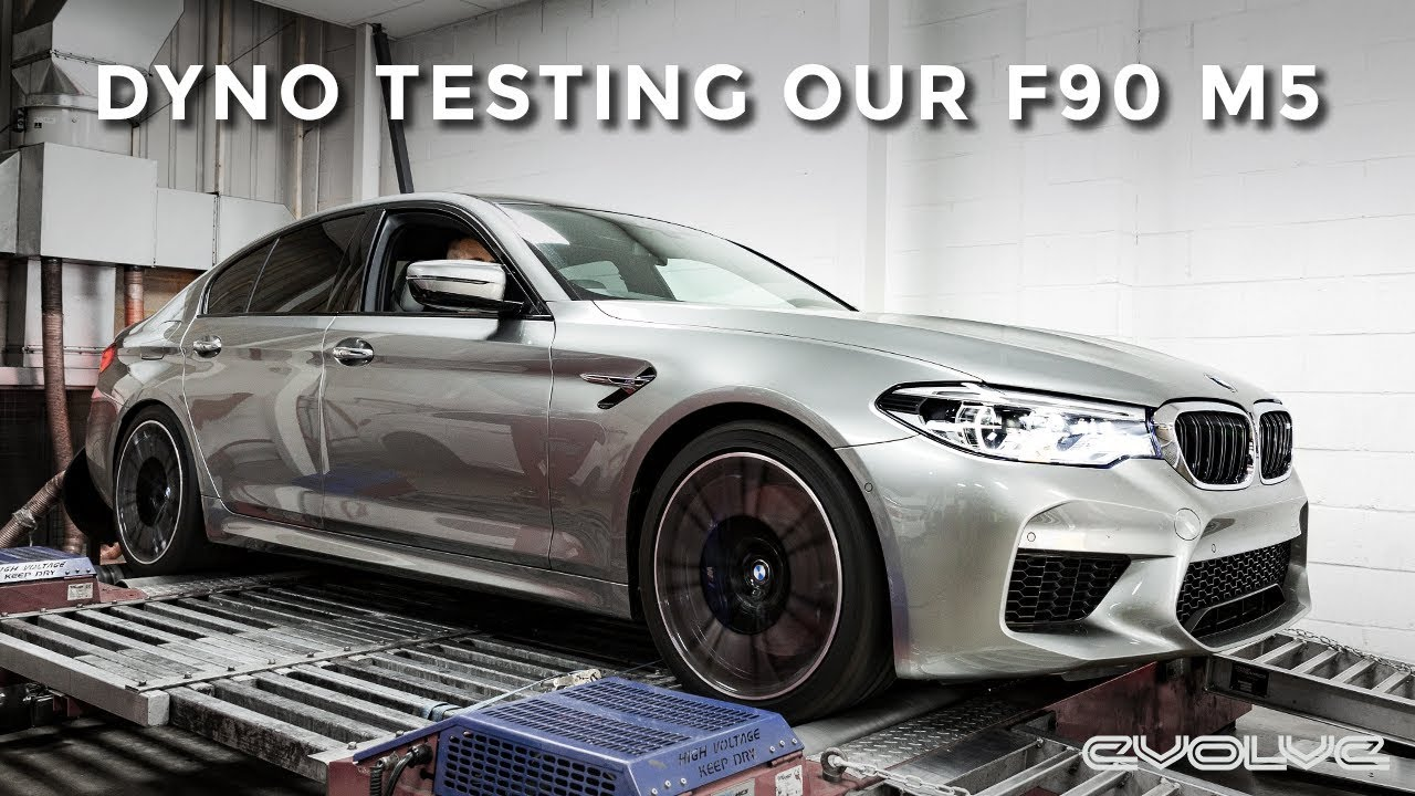 Dyno Testing our F90 M5 stock