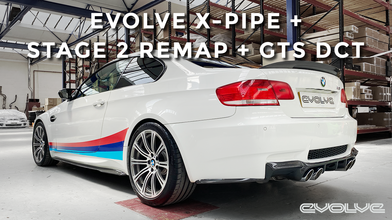 Evolve X-Pipe + Stage 2 Package for E92 M3