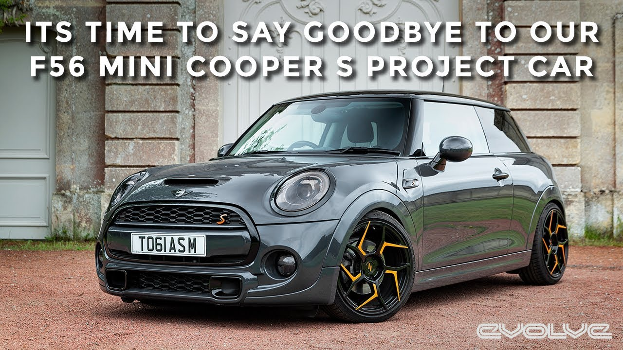 Saying goodbye to our Project F56 Mini Cooper S!