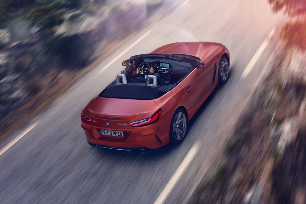 Z4 M40i Roadster First Edition Debuts At Pebble Beach