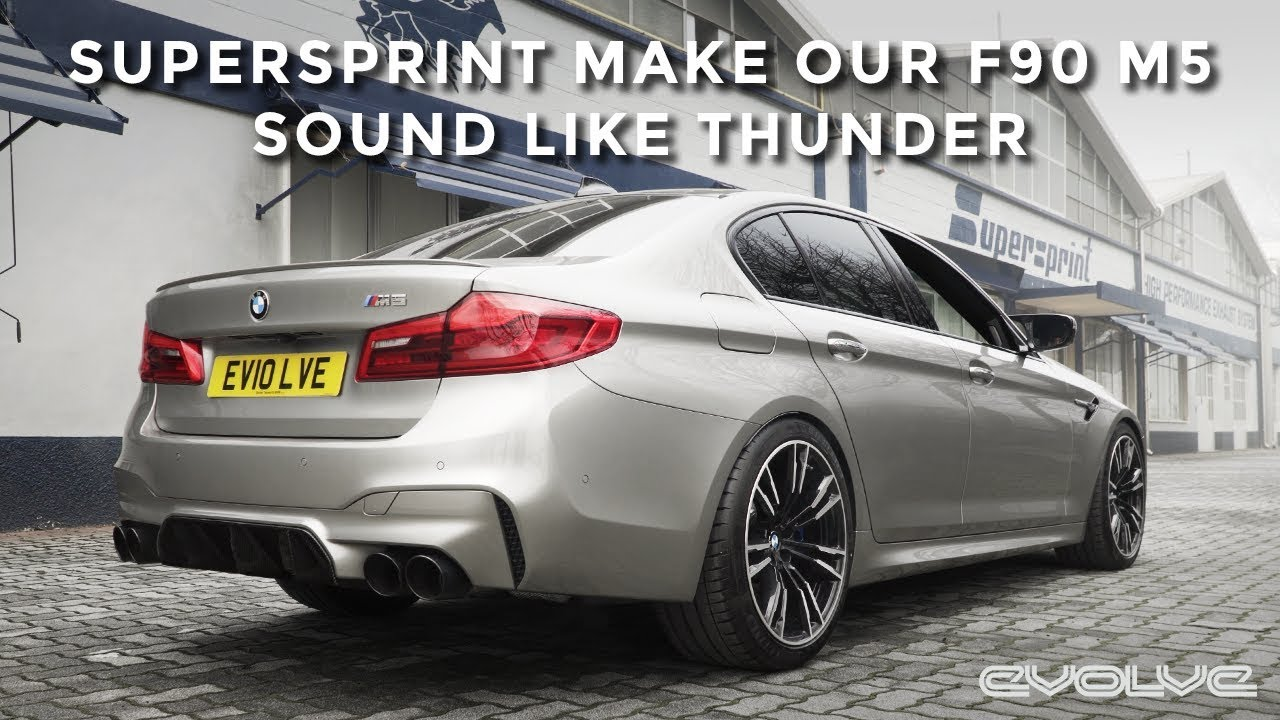 Developing a full Supersprint Exhaust for our F90 M5