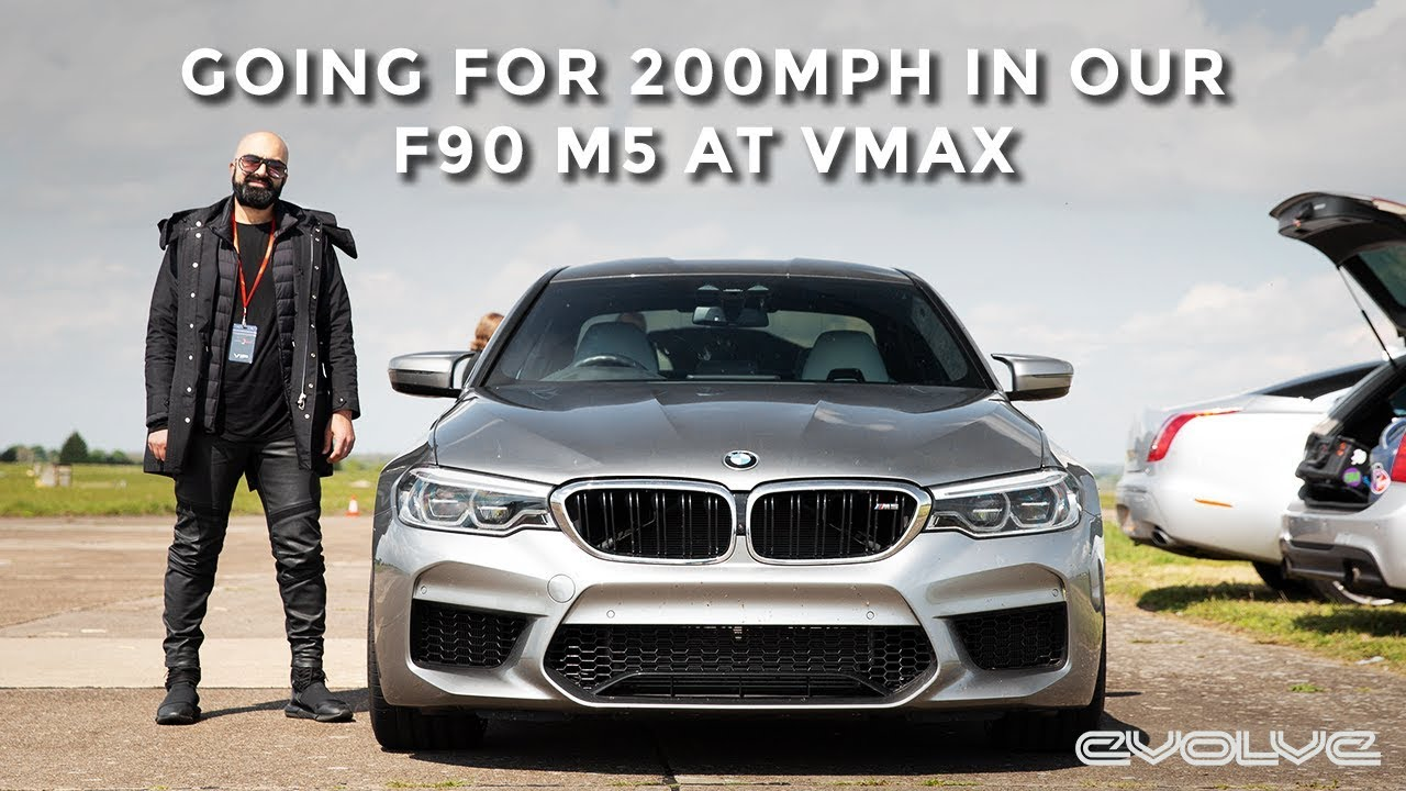 Going for 200MPH in our 800BHP Stage 2 F90 M5 at VMAX200