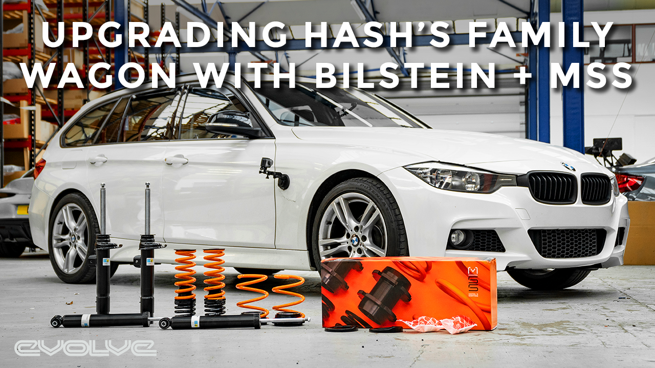 Pimping Hash's Family Wagon with Bilstein + MSS Suspension Upgrades - F31 318D