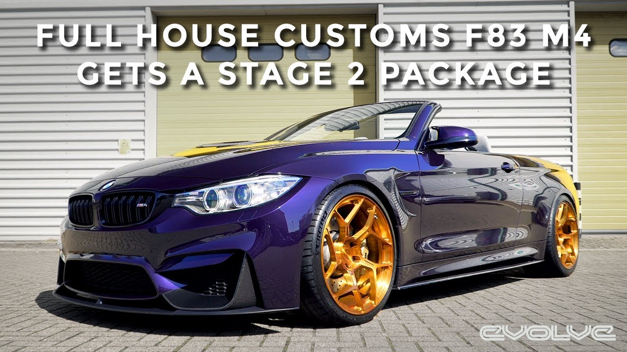 Full House Customs F83 M4 gets a Stage 2 Package