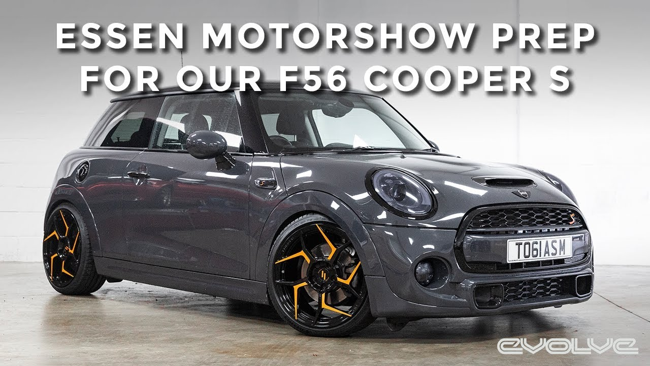 Transforming our F56 Cooper S into a show car for Essen Motorshow