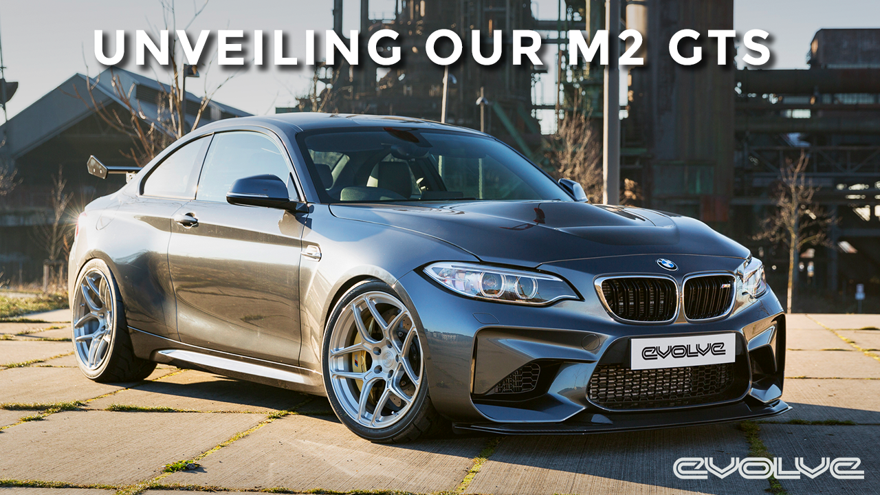 Unveiling our M2 GTS at Essen Motor Show 2016 - EVOLVE ARCHIVE