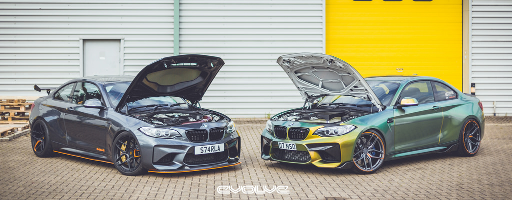 Representing the UK: 2 different ways to modify an M2