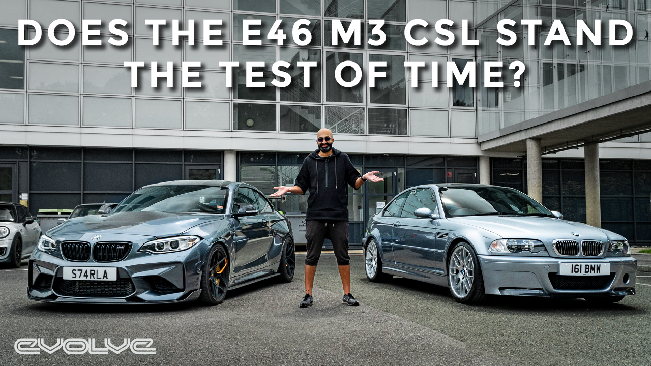 Driving the E46 M3 CSL - 17 years on does the legend live stand up?