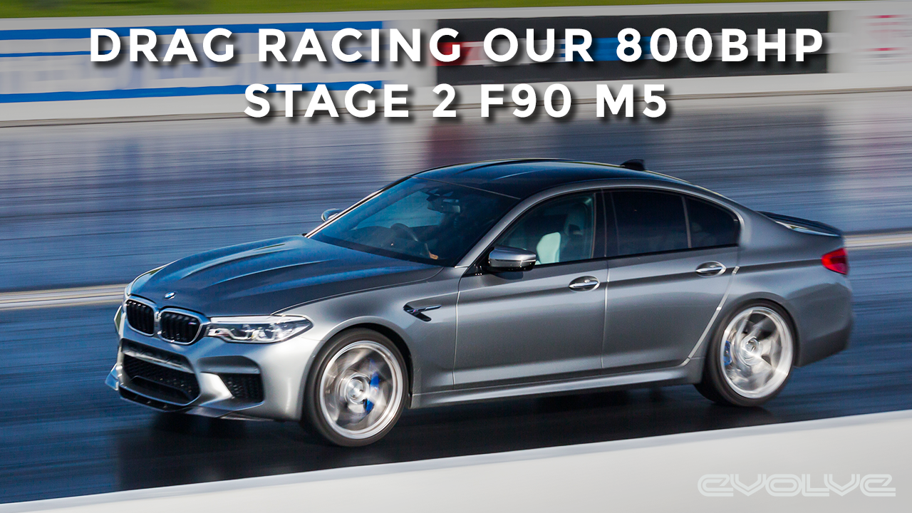 Drag Racing our Stage 2 F90 M5 against Nissan GTR's