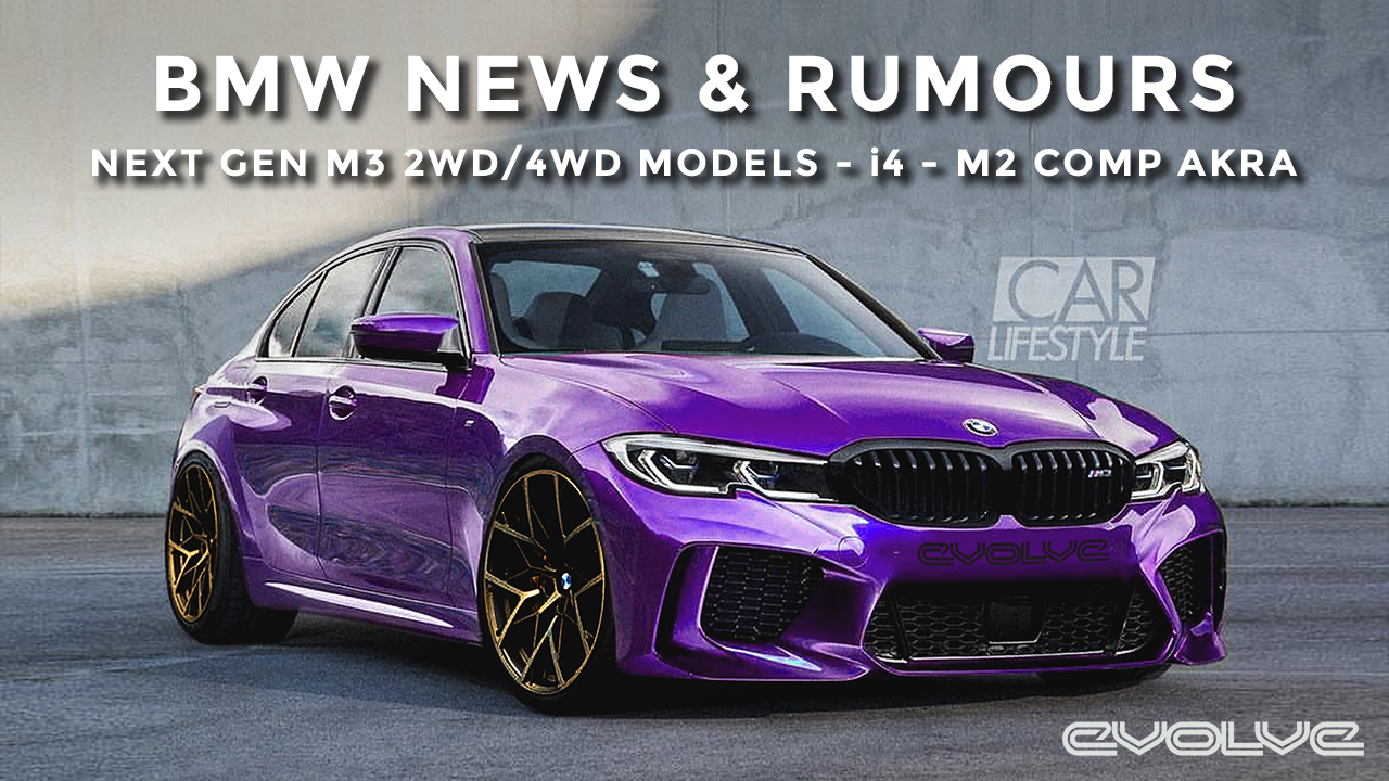BMW News & Rumours - G80 M3 2WD and 4WD models? - i4 - M2 Competition Akrapovic Exhaust