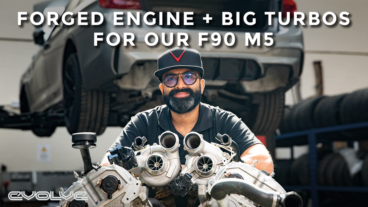 Taking our F90 M5 to the next level - Stage 3 Forged Engine Build + GTX Turbos