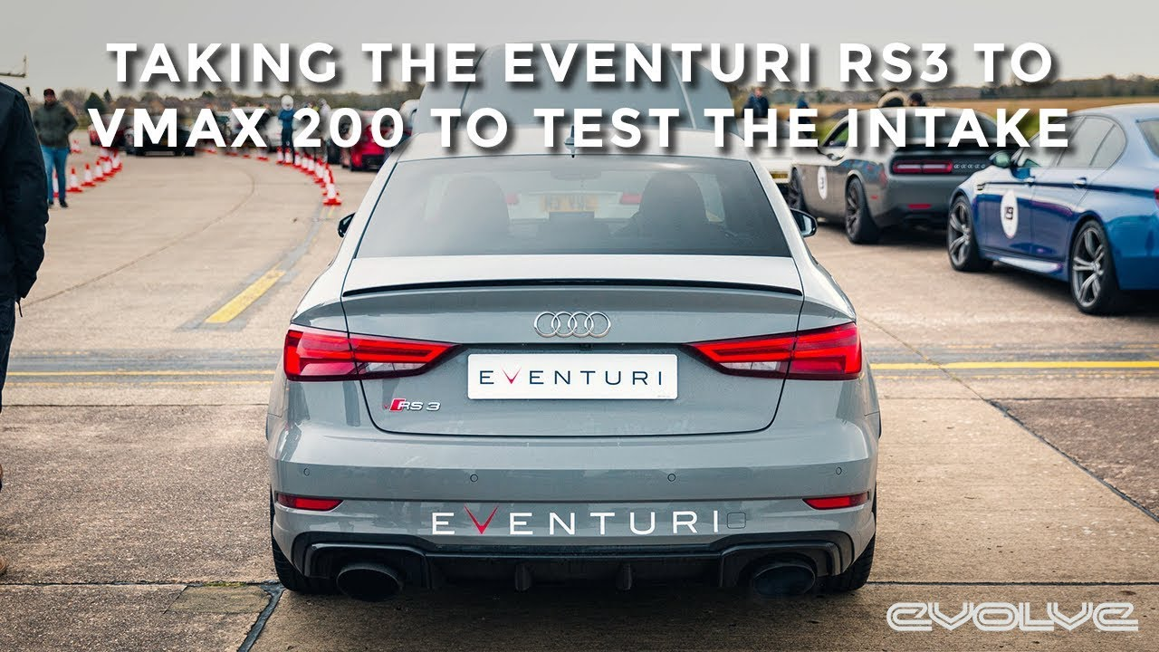 The Eventuri RS3 makes its debut at VMAX 200