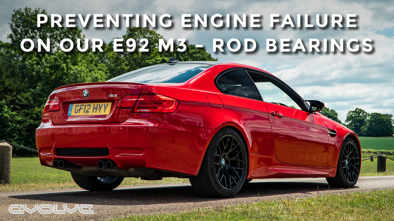 Changing the Rod Bearings on our Japan Red E92 M3