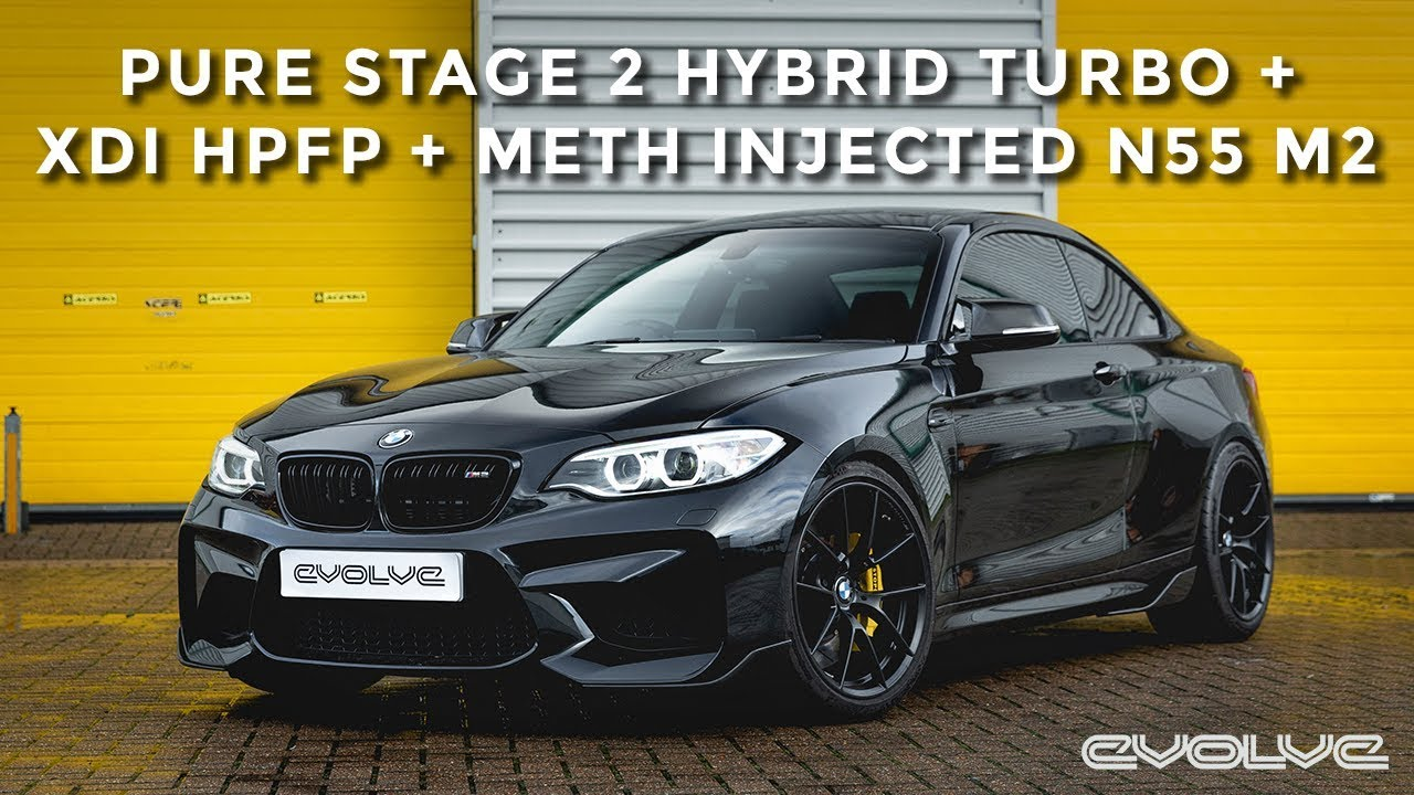 Making our most powerful M2 N55 - 520HP Pure Hybrid Turbo, Meth Injection + XDI HPFP Installation