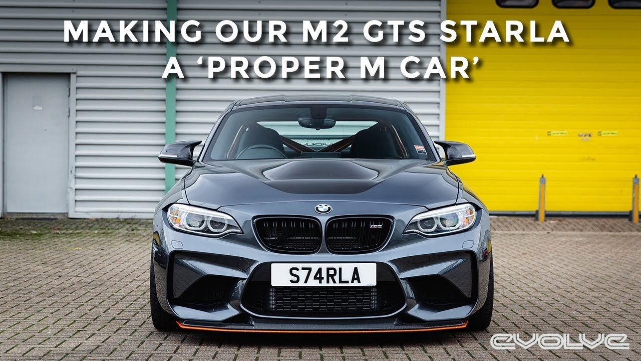 Fitting M4 style Mirrors and Reflector Delete to our M2 GTS