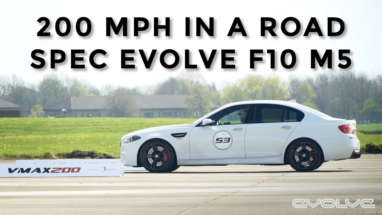 Joining the VMAX 200 MPH Club in our F10 M5 'The Great White'