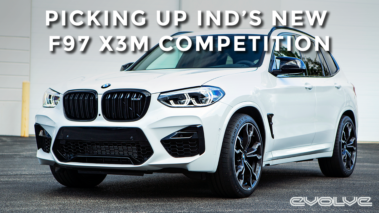 Collecting IND's brand new F97 X3M Competition!
