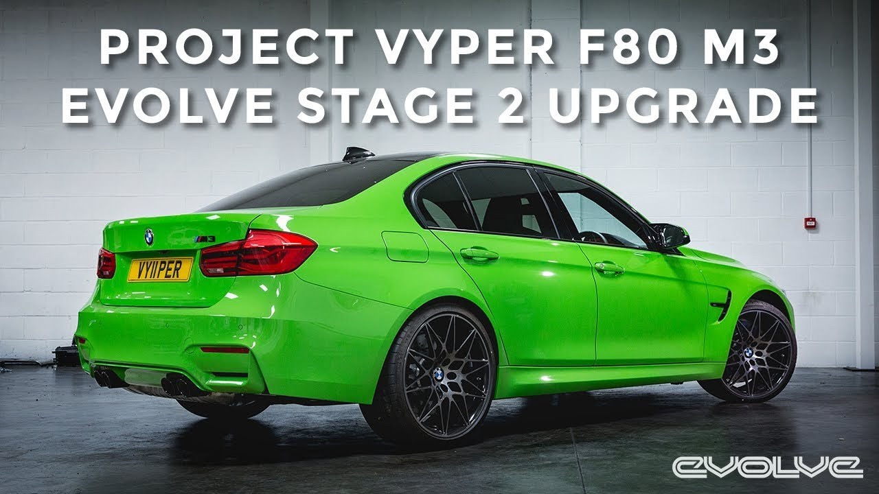 Project F80 M3 : Evolve Stage 2 Upgrade - Catless Downpipe and Remap