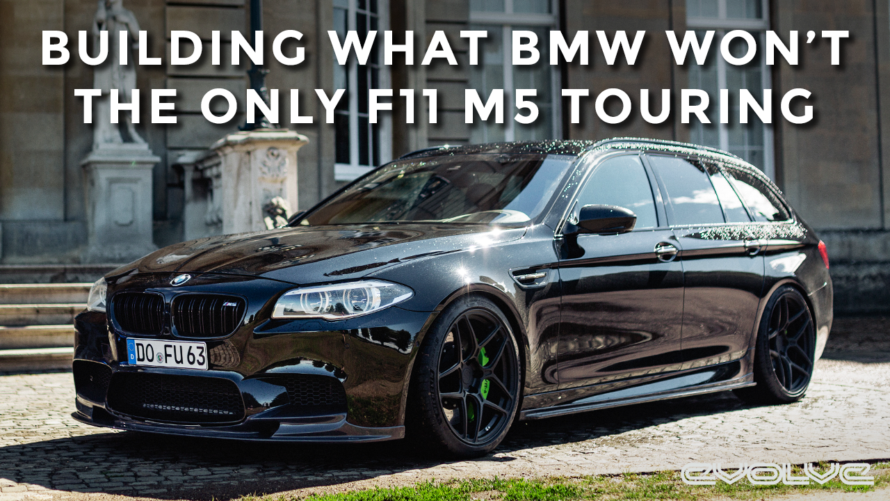 Driving the worlds only F11 M5 Touring - The car BMW should have made.