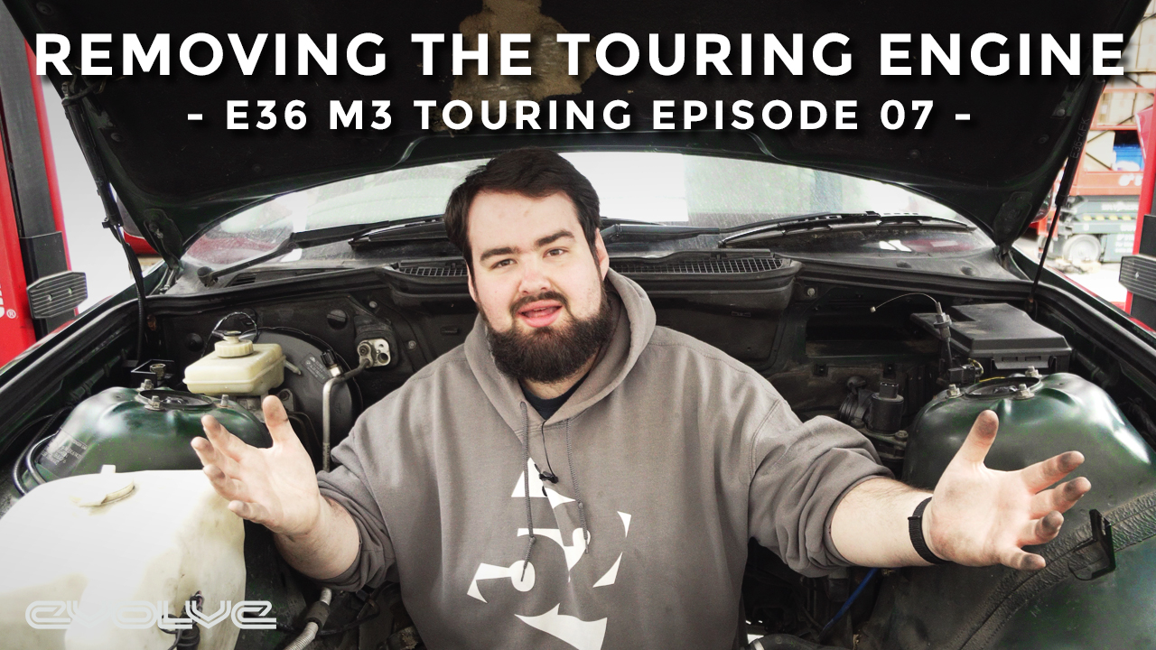 Removing the Engine from the Touring - E36 M3 Touring Ep 07