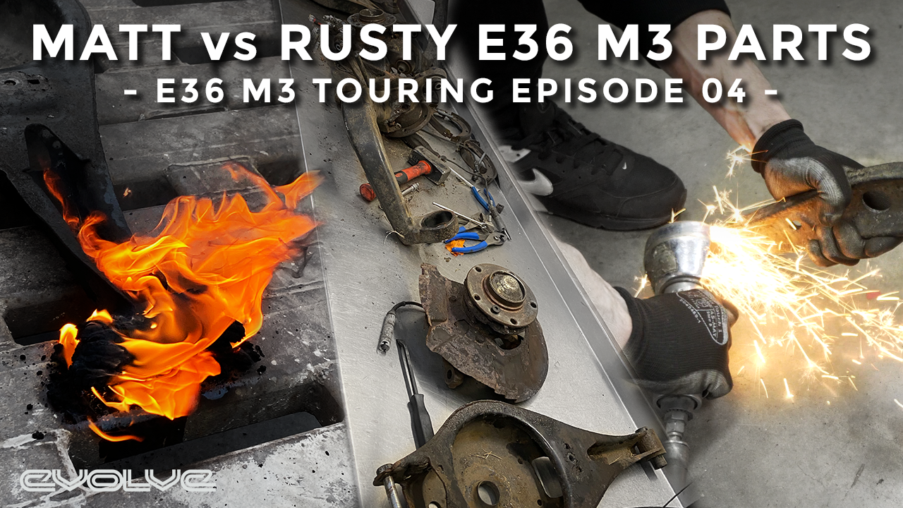 Why are the parts always rusty? E36 M3 Touring Project Ep 04