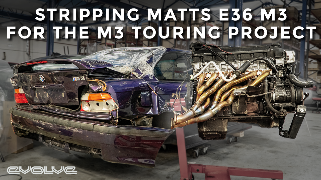 M3 Touring Project - Stripping the E36 M3 Donor