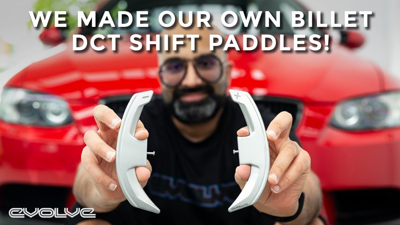 Fitting our brand new Evolve DCT Shift Paddles to our E92 M3 - Unboxing + DIY