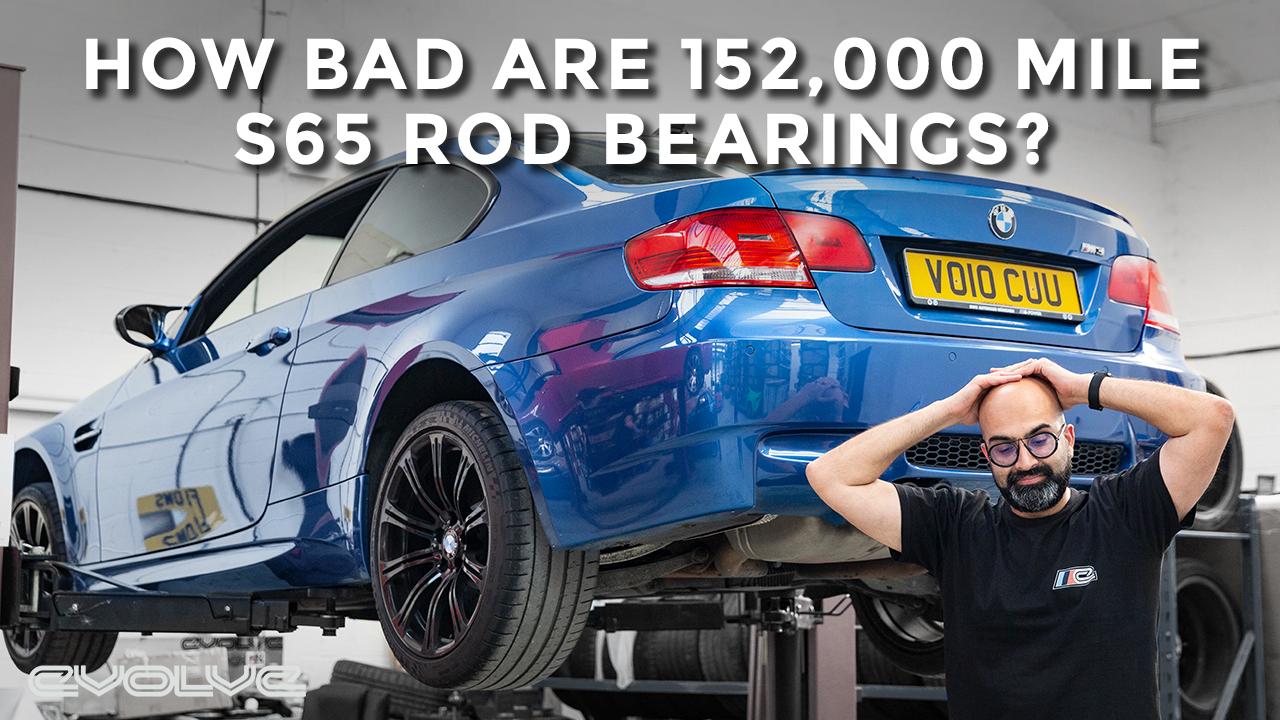 How bad are 152,000 old E92 M3 Rod Bearings?