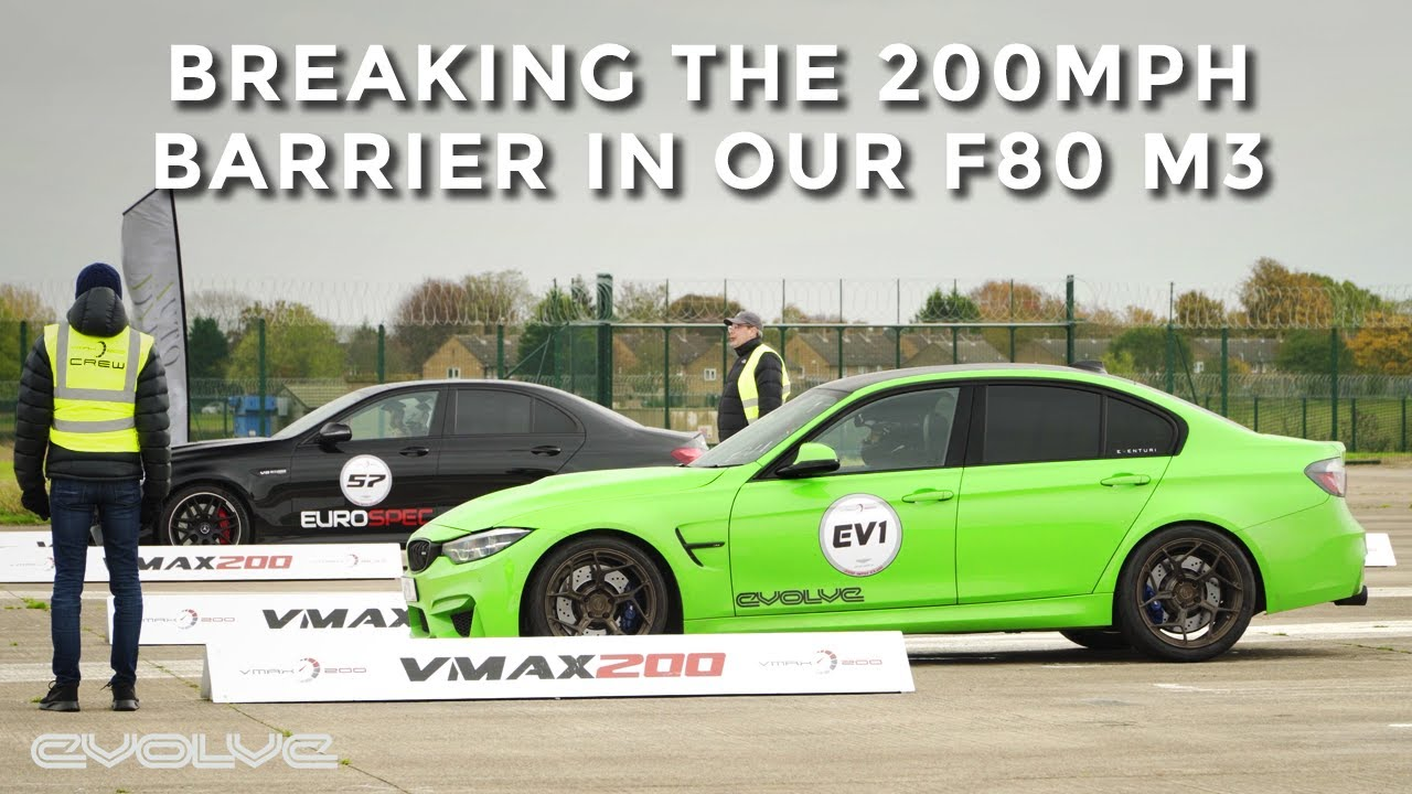 Breaking the 200mph barrier in our Stage 3 F80 M3