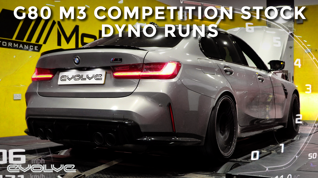 G80 M3 Competition Stock Dyno - How much power does it make?