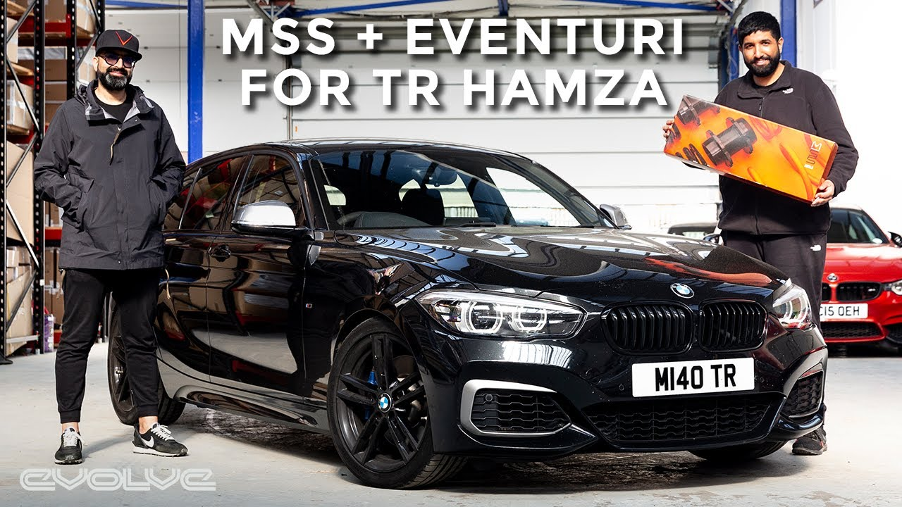 Fixing  @TR Hamza 's M140i rough ride with MSS Adjustable Springs